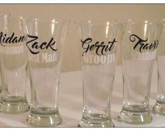 Groomsmen Glasses