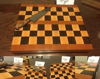 Homemade Endgrain Cutting Board