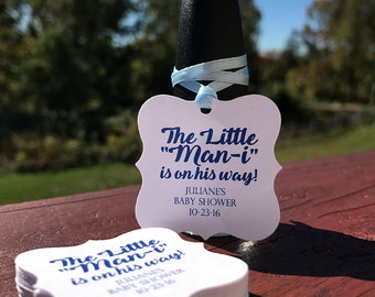 Baby Shower Favors Boy - Baby Shower Thank You Gifts - Nail Polish Favor - Nail Polish Tag - Baby Shower Thank You - Baby Shower Gift Tag