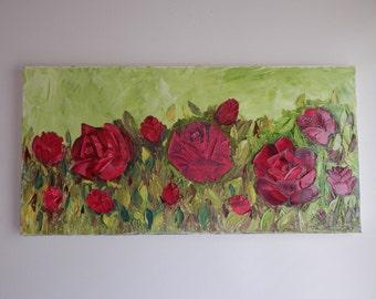 Rose Bush (Impressionism)