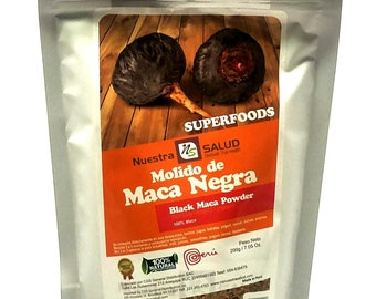 Black Maca Powder 200g
