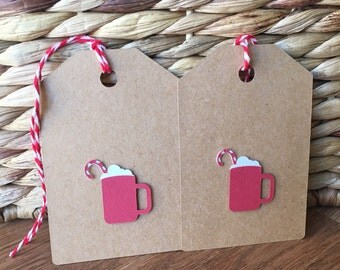 Hot Cocoa Gift Tags - set of 2