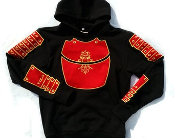 Shogun Hoodie fully embroidered