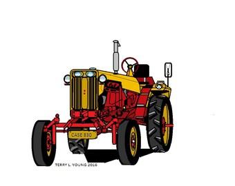 FARM TRACTOR PRINTS