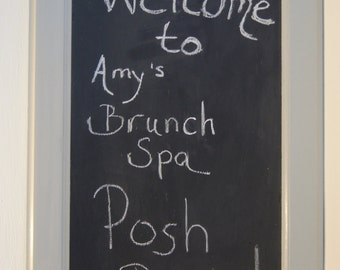 Repurposed Upcycled Chalkboard