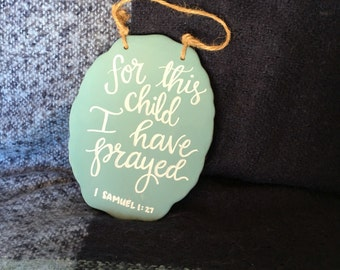 Nursery wall hanging