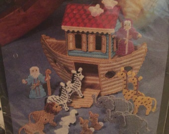 bible bucilla canvas completed finished kit needlepoint plastic preworked vintage liking expose