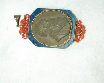 Pendant-brooch 19th century