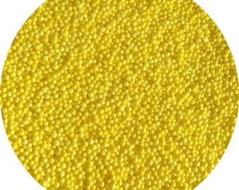 Yellow Nonpareils Cookie Sprinkles, Baking sprinkles, Cupcakes, Cookies