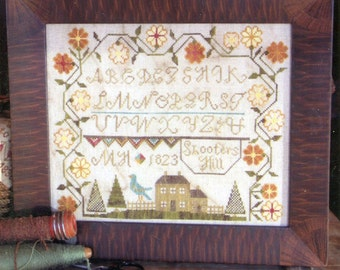 Shooter's Hill by Heartstring Samplery Counted Cross Stitch Pattern/Chart