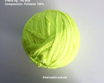 Trapillo green Neon PV2