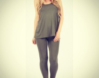Cami top and legging lounge suit