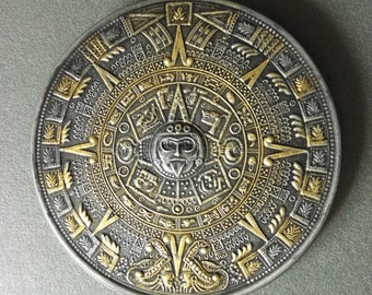 AZTEC CALENDAR, DECORATIVE ,