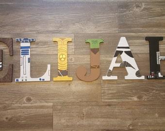Star Wars Wall Letters/ Nursery Letters