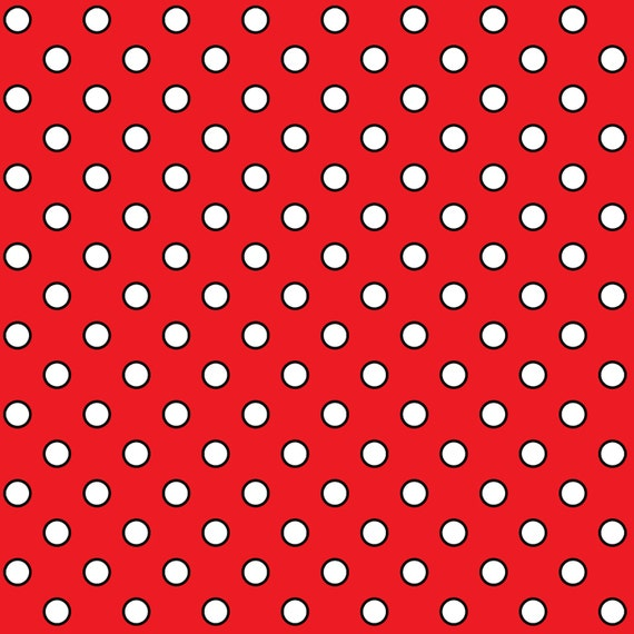 Red Polka Dots - Quilt Camp Collection