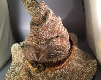 FREE SHIPPING Lughnasadh Witch Hat