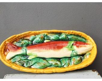 Ceramic Fish wall hanging