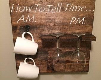 Wine glass/ coffee mug holder