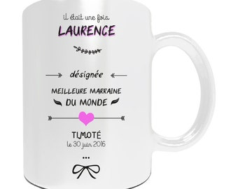 Mug customize best godmother in the world