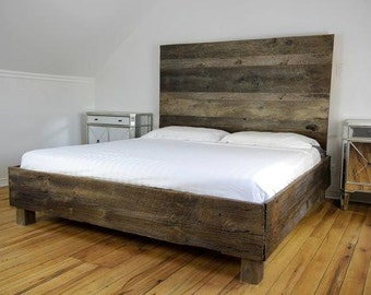 farmhouse bedroom furniture. Reclaimed Wood Bed  Storage Modern Rustic Bedroom Furniture furniture Etsy