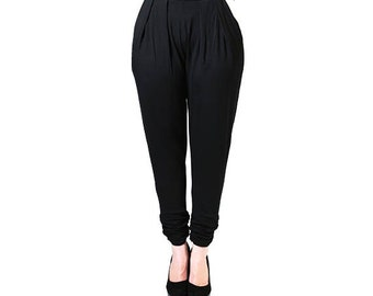 Black Jersey Trousers (Petite)