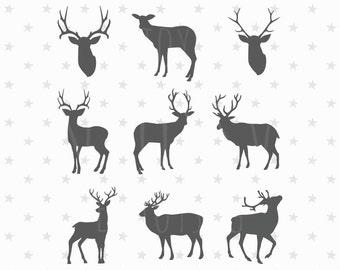 Christmas SVG Believe Svg Believe Christmas Svg Christmas Deer