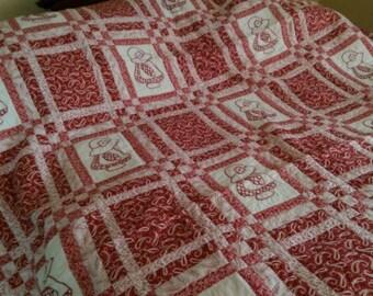 Handmade Quilt - Rework Sue