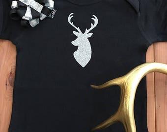 Glitter Deer Onesie