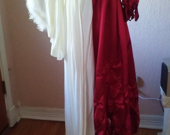 Angel/devil costume