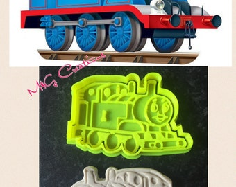 Thomas The Train Cookie Cutter Topper Fondant Cake Decoration - uk Seller