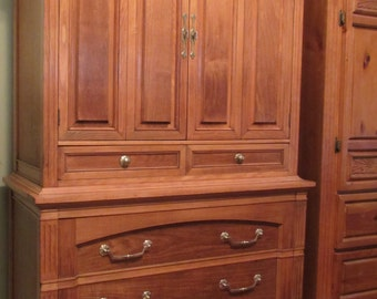 SAMPLE - Not For Sale - Thomasville 1960s Armoire Restoration