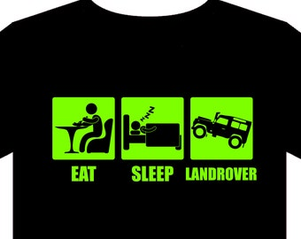 T Shirt - Sizes S to 5XL - Land Rover, Landrover, 4x4, off road, farming,  gift