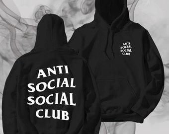 Antisocial Social Club Unisex Hoodie Graphic Hoodie Kanye West hoodie