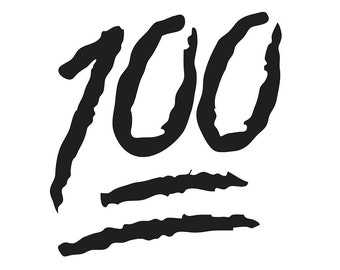 100 Emoji Etsy