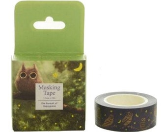 Washi Tape, Masking Tape, tape adhesive scrapbooking OWL