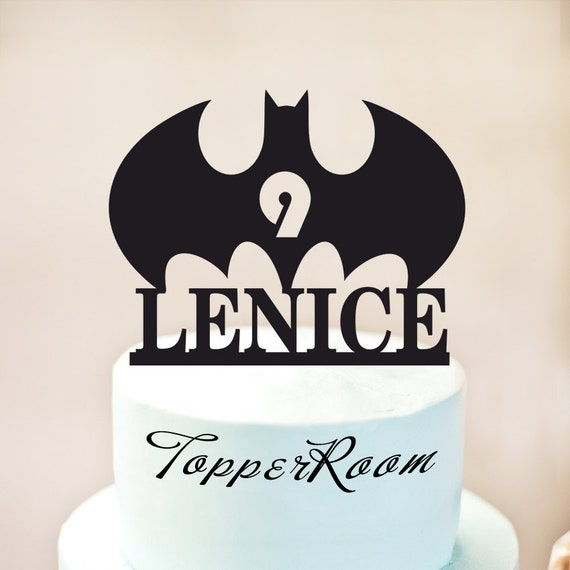 Batman cake topperBatman birthday cake topperBatman