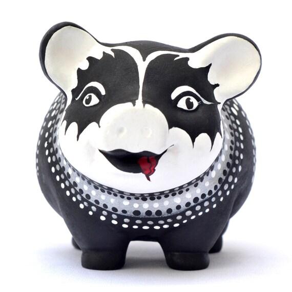 Kiss Rock Band Piggy Bank Adult Piggy Bank Personalized