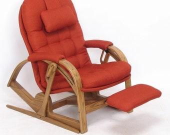Brigger Recliner: Ergonomic, Mid-Century Modern Furniture