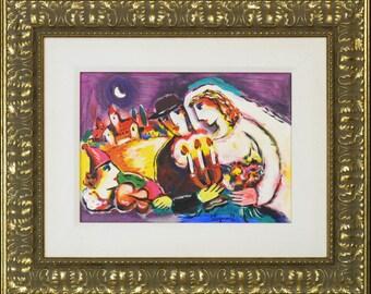 Hand Embellished Artist Proof by Zamy Steynovitz