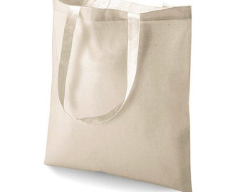 12 piece/pack Organic cotton bag/Shopping bag. FREE SHIPPING
