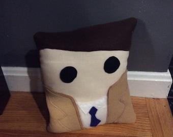 Castiel supernatural pillow plush
