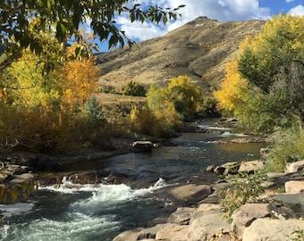 Cear Water Creek, Golden, CO