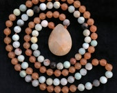 Amazonite, Orange Jade, P...