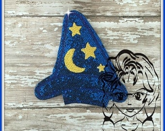 MAGICIAN HaT Center (Add On ~ 1 Piece) Mr Miss Mouse Ears Headband ~ In the Hoop ~ Downloadable DiGiTaL Machine Embroidery Design by Carrie