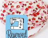 RESERVED Curvy Clutch PDF Sewing Pattern