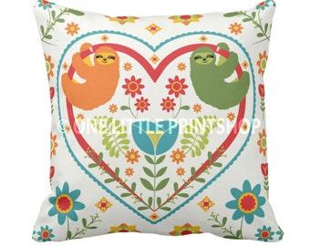 Sloth Pillow Etsy