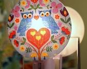 Woodland Owls Nightlight