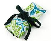 Crochet Hook Case  - Flourish Twilight - 26 black pockets