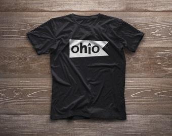 Ohio Flag Unisex Adult Tee