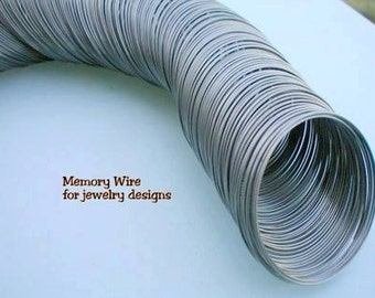 Memory Wire Spool for Bracelets, Rigid Memory Wire Bracelets, 3 ounces, Clearance Sale 1/3 Discount